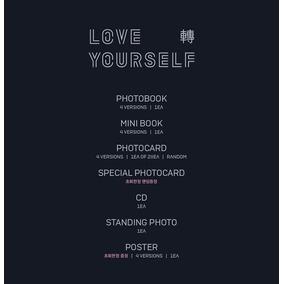 Bts Love Yourself Tear Ver. Random + Poster Leer Descripcion