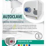 Autoclave Digital 6 L - Garantía 1 Año - Invima