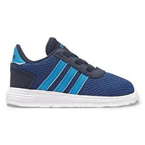 Tenis adidas Bebe Lite Racer Inf Azul Marino Niños Original