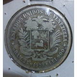Moneda Fuerte De Plata Año 1929