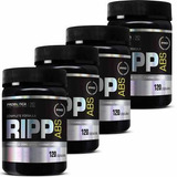 4x Pro Ripp Abs - 120 Cápsulas - Probiótica