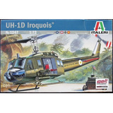 Helicoptero Bell Uh - 1d Iroquois By Italeri # 1247 1/72