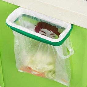 Colgando De Basura De Plástico Titular Bolsa De Basura De B
