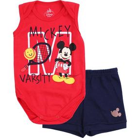 Kit Body Regata Bermuda Disney Mickey Marlan