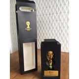 Miniatura Réplica Taça Copa Do Mundo 2014 Banhada Ouro 20k