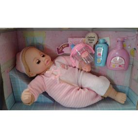 Muñeca Bebe Que Llora, Rie , Habla