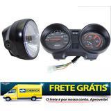 Painel Completo Honda Cg Fan 150 Flex Esi 2013 + Farol Compl