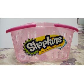 Shopkins Canastas Para Fiestas Paquete 12 Piezas Especial