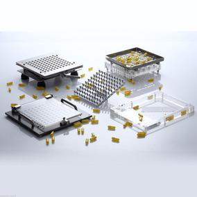 Tamaño 00-4 Metal Material De La Máquina De Vacío Cápsula