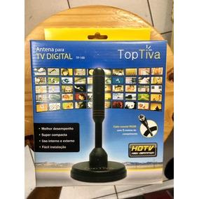 Antena Digital Toptiva Tp-100 Hdtv / Mgmix Original Unicoba