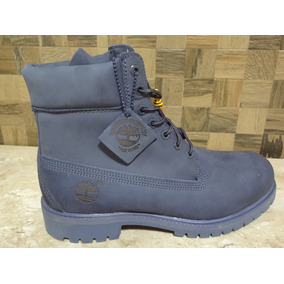 Bota Timberland Yellow Boot Blue Wtph Azul Original Import.