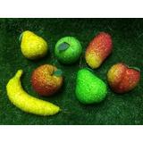 Kit Frutas Cristal/cristalizada Cozinha/restaurante/natal