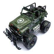 Auto A Control Remoto Jeep Militar Army 1:24 Caja