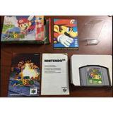 Juego De Nintendo 64 Súper Mario Con Caja Y Manual Ntdf