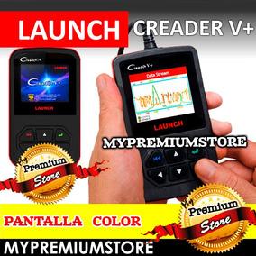 Escáner Diagnostico Automotriz Launch Creader V+ Obd2 Color