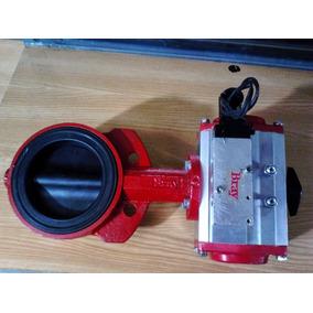 Valvula Mariposa 4 Con Actuador Neumático