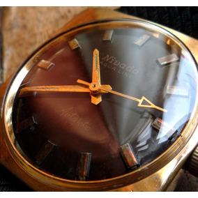 Nivada Antarctic Reloj Suizo Antiguo Coleccion Raro 27218swt