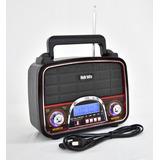 Bocina Portatil Recargable Usb Radio Am Fm Kts-005 /e