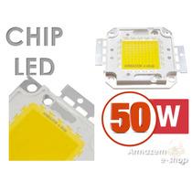 Chip Super Led De Alta Potência Avulso Com 50w Branco Frio