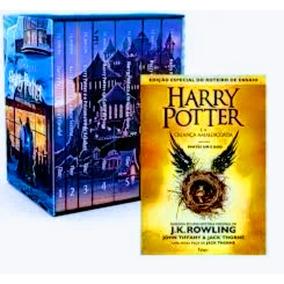 Box Coleção Harry Potter + A Criança Amaldiçoada Capa Dura