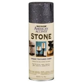 Americanos Acentos Oz Negro Piedra De Granito De Pulveriza