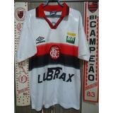 Camisa De Futebol De Treino Do Flamengo Lubrax Umbro - Camisas de ... 600d56b998211