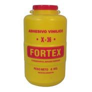 Adhesivo Vinilico Pegamento Fortex X36 X 6kg Carpinteria