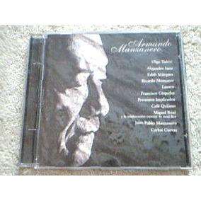 Cd Armando Manzanero - Duetos - Ricardo Montaner - Lucero