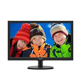Monitor Led Philips V-line 223v5lsb 21.5in 1920x1080 Full Hd