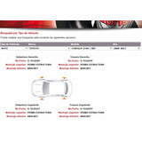 Amortiguadores Traseros De Toyota Corolla 2008 Al 2013
