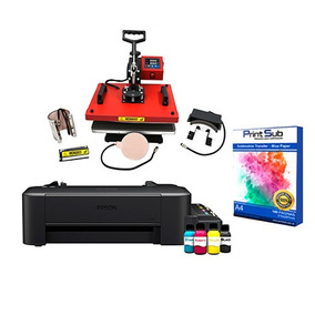 Prensa Térmica 4 Em 1 E Impressora L120 Kit Sublimação
