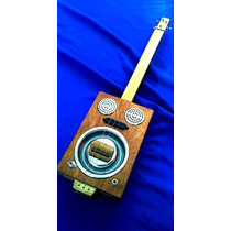 Cigar Box Guitar Dobro Mic Electrica