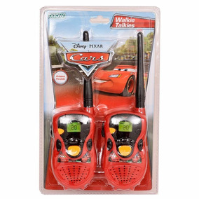 Walkie Talkies Cars Licencia Original Ditoys