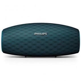 Caixa De Som Bluetooth Philips Bt6900a/00 Azul Recarregável