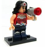 Figura Mujer Maravilla Super Héroes Para Armar Adorno Torta