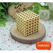 Neocube Esferas Magneticas 5mm Dorado Y Plata - Neodimio