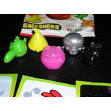 Lote De 5 Muñecos Angry Birds Smashers 2013 + 3 Tarjetas
