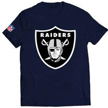 Camisa Camiseta Caveira Raiders Nfl Personalizada