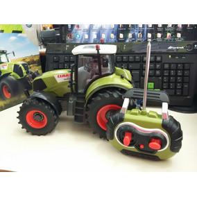 1/16 Brinquedo Trator Claas Axion Controle Remoto A Pilha