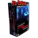Actividad Paranormal Dvd Colección 4 Discos Original Terror