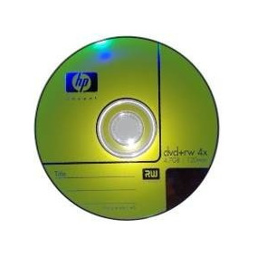 Dvd +rw 4x Regrabable Marca Hp 4.7gb Con Funda