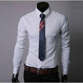 4ef41e9a61920 Camisas Fit - Ropa y Accesorios Blanco en Mercado Libre Colombia