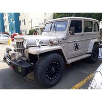 Jeep Willys Wagon 4x4 Campero Todo Terreno Trochador