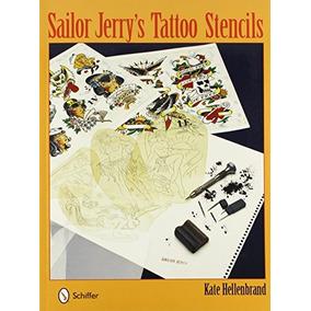 Libro Sailor Jerrys Tattoo Stencils - Nuevo