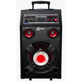 Caixa Som 300w Rms Multiuso Karaokê/microfone Bivolt