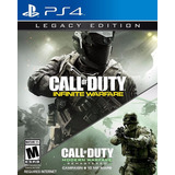 Call Of Duty Infinite Warfare Legacy Ed + Mw 4 Ps4 Domicilio