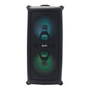 Bafle Amplificado Ghia Doble Bocina 6.5 PuLG Recargable /bt/