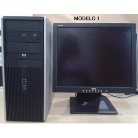 Combo Cpu Hp Ddr2 Core 2duo 240dd 2gbram + Monitor 19 Claseb