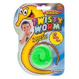 Gusano Twisty Worm Truco De Magia Colores Juego Juguete