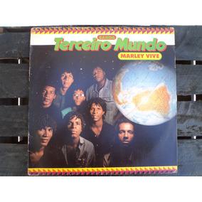 Lp - Marley Vive - Terceiro Mundo (1988) (encarte)